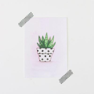 Cactus art print, Cactus nursery art, Southwestern art, nursery decor