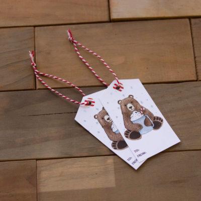 Printable Christmas Tags, Holiday Gift Tags, Christmas Gift Tags